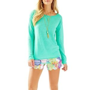 Lilly Pulitzer  Alana Linen Sweater